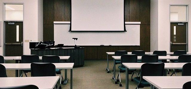 Uno sguardo all'aula